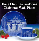 The Hans Christian Andersen Christmas Wall-Plate